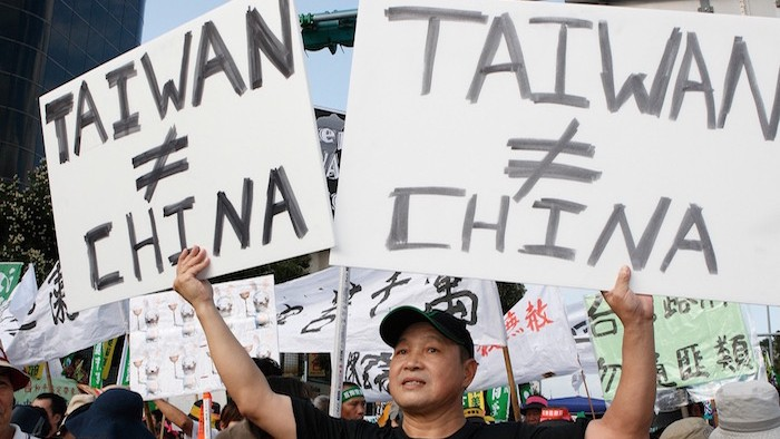 what is the relationship between prc and taiwan