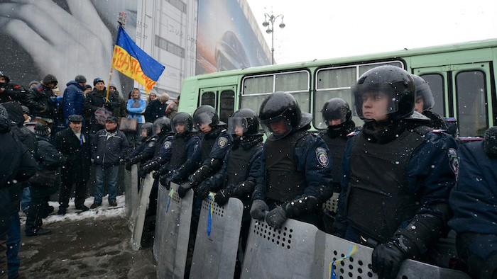 Ukraine's Media during Revolution, Annexation, War and Economic Crisis