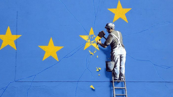 Image by Duncan Hill (artwork by Banksy)