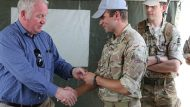 British Minister for the Armed Forces visits the UK Engineering Contingent supporting the UN Mission in South Sudan.   British peacekeepers in South Sudan are continuing their support to the UNMISS mission of protecting civilians and improving stability in the country.   Armed Forces Minister Mike Penning visited the UK Contingent at Malakal and Bentiu yesterday where almost 100 personnel are carrying out engineering tasks in support of UNMISS. The Royal Engineers are preparing for the main deployment of nearly 400 peacekeeping troops over the coming months.   The UK Engineers are dedicated to carrying out engineering work which will improve critical logistic routes and security at Malakal and Bentiu Protection of Civilian sites. As more troops arrive, they will build a permanent field hospital at Bentiu over 1,800 UN personnel.