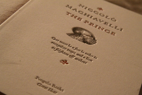 understanding the views and philosophies of niccolo machiavelli The prince is niccolo machiavelli's most famous work, however, the discourses on the first ten books of titus livius provides an addendum to the principles set down in the prince that illuminate and expand on his political philosophies.