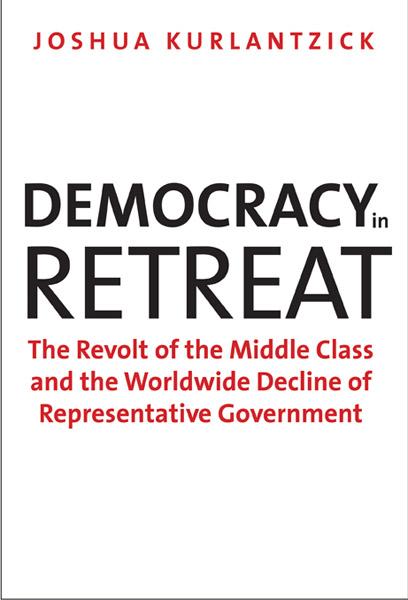 cover- democracy in retreat