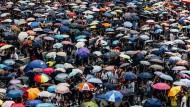 The Umbrella: Bodies, Deportment and Geopolitics