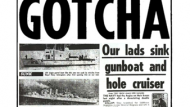 Compare and contrast the British government's use of propaganda in the Suez crisis and the Falklands war