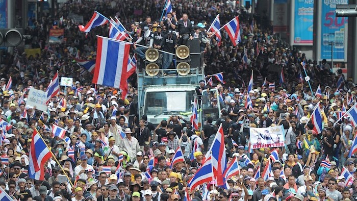Protesters in Thailand Try a Civilian Coup D'état
