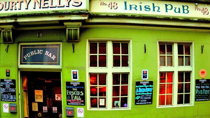 Sláinte: The Performative Geopolitics of the Irish Pub