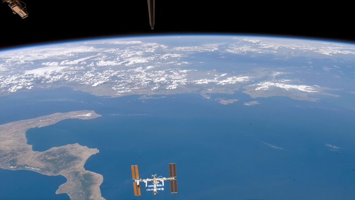 International Space Station: Terrestrial Confrontation to Orbital Cooperation
