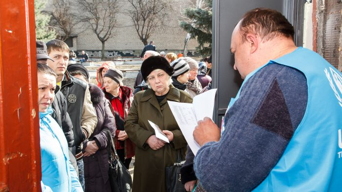 Responses to the Phenomenon of Internal Displacement in Ukraine