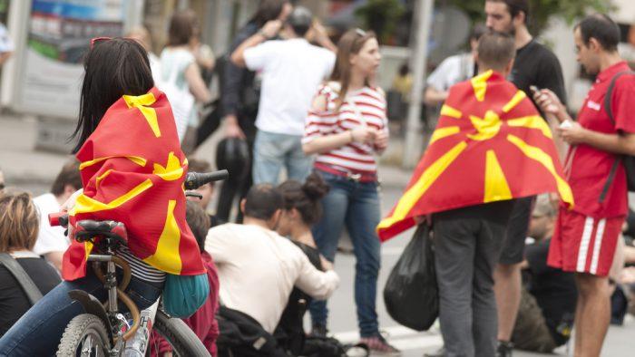Balkan Schrodinger's Cat: The Case of Macedonian Democracy