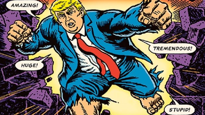 Pop-Culture & Trump: Interviewing R. Sikoryak, Creator of the Unquotable Trump