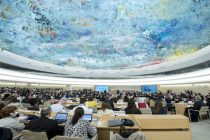 A general view of participants at a 35th Session of the Human Rights Council. 6 June 2017. UN Photo / Jean-Marc Ferré