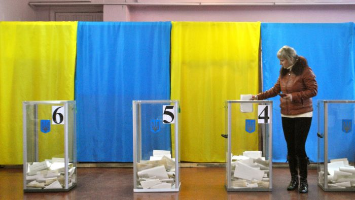 Ukraine and Russia Gird for Presidential Election