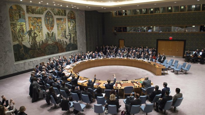 The Security Council unanimously adopts resolution 2254 (2015), requesting the Secretary-General, through his good offices and the efforts of his Special Envoy for Syria, to convene representatives of the Syrian government and the opposition to engage in formal negotiations on a political transition process on an urgent basis, with a target of early January 2016 for the initiation of talks.