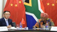 Deputy Minister of International Relations and Cooperation, Ms Nomaindiya Mfeketo meeting with her counterpart Chinese Assistant Minister of Foreign Affairs Mr Chen Xiaodong, in Pretoria. 22/08/2017