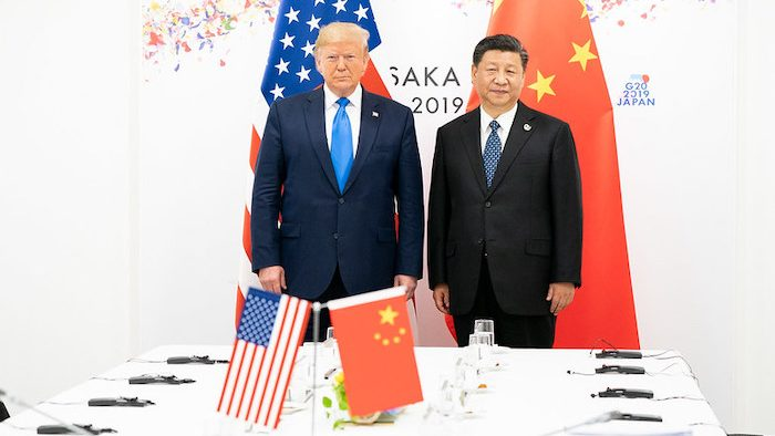 Trump's US-China Trade War and America's International Place