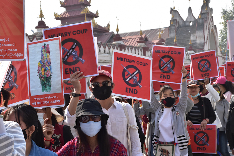 Gender Inclusive Peace Process and Protection Concerns amidst the Myanmar Coup