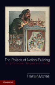 cover politics of nation-building