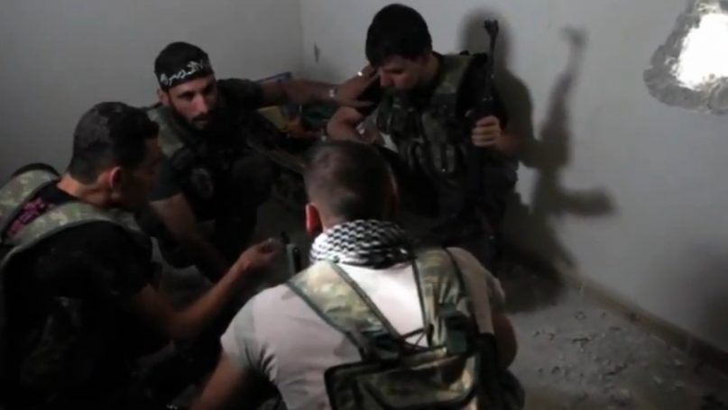 Image by VOA News: Scott Bobb reporting from Aleppo, Syria