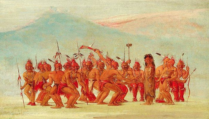 Image by George Catlin via Wikimedia Commons