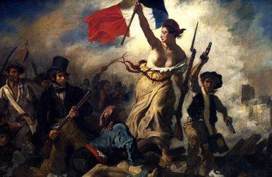 Eugène Delacroix's Liberty Leading the People (1830, Louvre)